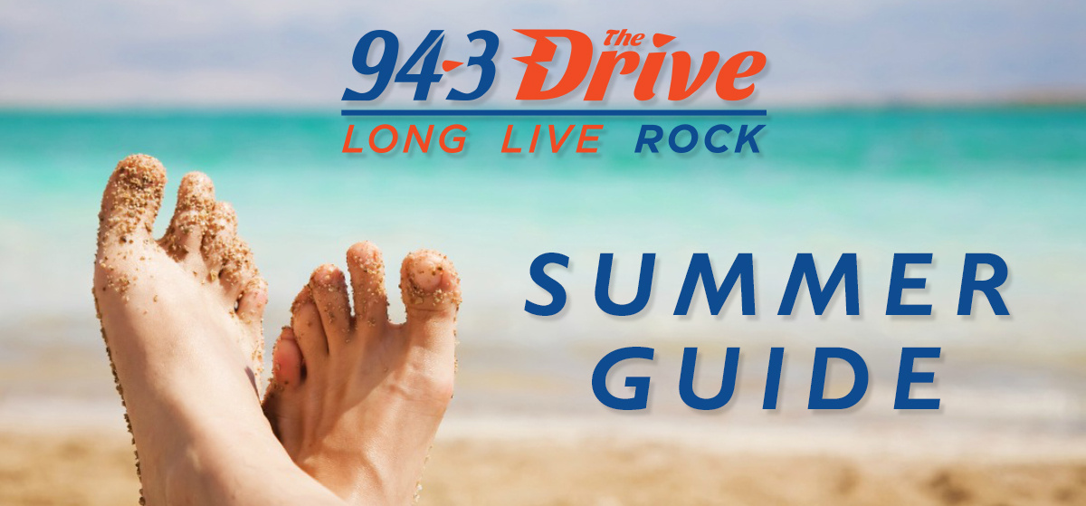 94-3 The Drive Summer Guide!